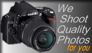 Need photographs for your website. We offer to take photos of your business, service or products using high quality cameras and editing software.